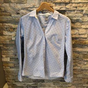 🌱H&M  women's button thru stretch dress shirt